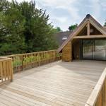 """La petite maison"" et sa grande terrasse"